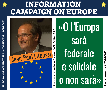 Jean Paul Fitoussi - Information campaign on Europe