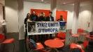 Campagna per la Federazione Europea: Flashmob a Bruxelles